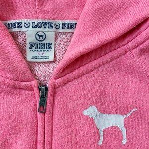 Victoria's Secret PINK Neon Pink Sweater